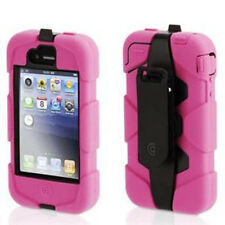 Griffin Survivor Military Duty Extreme Hard Case w Belt Clip iPhone 3G 3GS Pink