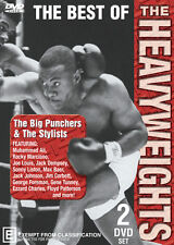 BEST OF THE HEAVYWEIGHTS - BIG PUNCHERS & THE STYLISTS - 2 DISC SET BOXING DVD