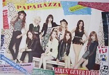 "GIRLS GENERATION ""PAPARAZZI - BLACK & WHITE OUTFITS"" POSTER - K-Pop Music"