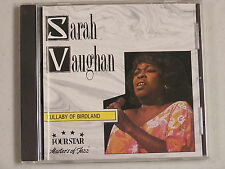Lullaby of Birdland by Sarah Vaughan (CD, Jun-1995, Four Star) Masters of Jazz
