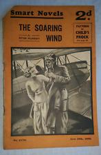 "Vintage Smart Novels Magazine Issue 2179 June 29th 1936, ""The Soaring Wind"""