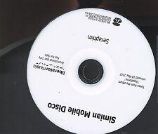 Simian Mobile Disco Seraphim promo cd