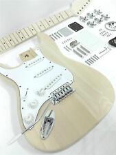 Left-Handed HSST 1910L Complete No-Soldering Electric Guitar DIY Kit,Solid Body