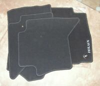 Toyota HiLux Double Cab Set Of 4 Mats (Mats Only) PW210-0K018