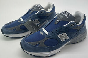 New Balance 993 Mens Size 11 D 'Made in USA' Indigo Blue Sneaker MR993VI NWD