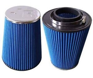 Jetex Universal Cone Air Filter 70mm Neck I/D & Chrome End Cap FC-07003
