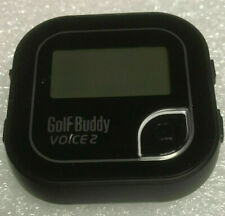 Golf Buddy Voice 2 Easy to use talking GPS Rangefinder with a clip Black @ R4
