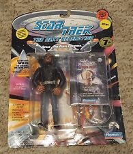 Lieutenant Worf - in Starfleet Rescue Outfit And Captain Kurn