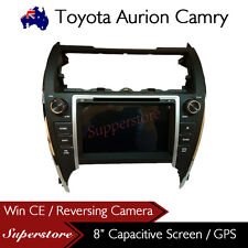 "8"" Car DVD GPS Head Unit Stereo Radio Nav For Toyota Camry 2012-2016"