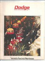 Dodge News Magazine October 1971 - Toronto's Fanciest Warehouse
