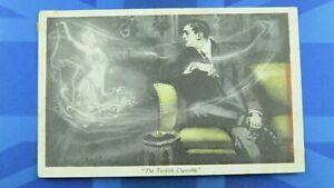 Saucy Comic Postcard 1913 Theatre Actress Maud Allan Salome TURKISH CIGARETTE