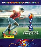 2019 Panini FIFA Women's World Cup Stickers Pick From List With Foils 241-480