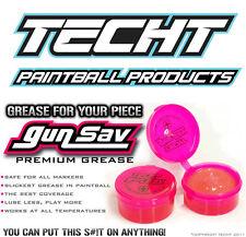 TECHT Gun Sav GREASE 1oz - HIGH Performance Paintball Grease - SLICKEST GREASE!