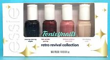 essie 2016 RETRO REVIVAL 4-pc Mini Polish Gift Set ~ Starry Life Bikini Birthday