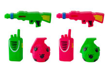 6 PACK ASSORTED DOG PET SQUEAKY VINYL FETCH PLAY FUN TOYS