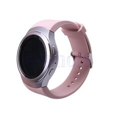 Silicone Wrist Bracelet Watch Band Strap For Samsung Galaxy Gear S2 R720 Pink HM