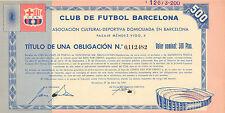 Club de Futbol Barcelona Asociacion Cultura-Deportiva, obligacion, 1957