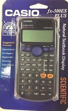 CASIO - FX-300ES PLUS - SCIENTIFIC Calculator - BLACK