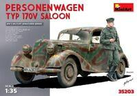 1:35 SCALE MODEL KIT MiniArt  Personenwagen Typ 170V Saloon MIN35203