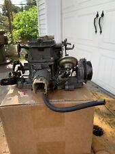 AMC Eagle carburetor 2 bbl Carter Elect Choke, Stepper Motor