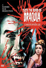 Taste the Blood of Dracula (DVD, 2004, Snap-case) * NEW * [Cut Barcode]