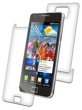 Zagg InvisibleShield Grado Militar Protector de pantalla para Samsung Galaxy S II..