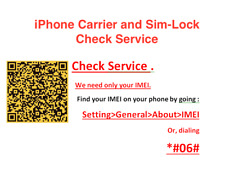 iPhone carrier and sim lock check service GSX service