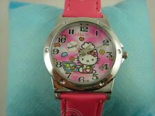 Wholesale CUTE Fashion Wrist Quartz Watch Wristwatch For Hello Kitty + Pendant