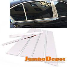 Stainless Steel Chrome Window Door Pillar Post Trim Fit Honda Accord Sedan 13-16