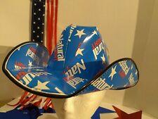 🍺2021 NEW! Patriotic NATURAL LIGHT Cowboy~girl HAT Beer Box OSFM Anheuser Busch