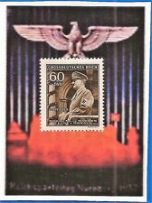 1944 Nazi Germany 3rd Third Reich B&M Hitler in Mercedes car stamp MNH