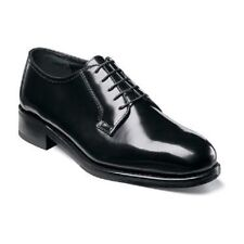 Florsheim Lexington Mens shoes Black Full Grain leather plain toe 17079-01.