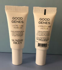 (2) Sunday Riley Good Genes Lactic Acid Treatment Travel/Sample Size  .17oz/5ml