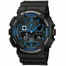Casio G-Shock GA-100-1A2DR Analog-Digital Wrist Watch for Men