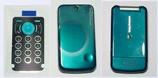 Full blue Fascia housing cover facia faceplate case for Sony Ericsson T707