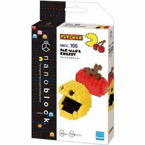 Kawada: Pac-Man - NBCC_105 - Pac-Man & Cherry Nano Block NEW!