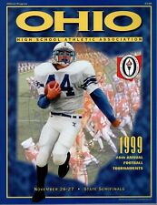1999 OHIO HIGH SCHOOL FOOTBALL STATE CHAMPIONSHIP PROGRAM       STATE SEMIFINALS