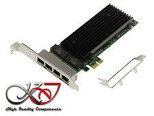 Lot of 10 Intel Low-Profile Bracket 9402PT 82571GB 82576EB//GB E1G42ET 2-Port NIC