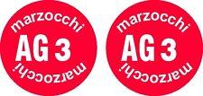 Adesivi ammortizzatore  Marzocchi AG3 inferiore  anni  70