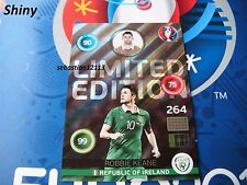 Panini Adrenalyn XL Euro 2016 RARE limited edition Shiny - Robbie Keane