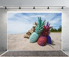 Colorful Pineapple Desert Vinyl Backdrop Photography Prop Photo Background 6x4FT