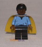 Lego Lando Calrissian Minifigure Rare from set 10123 Star Wars NEW sw105