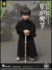 WorldBox Japanese Kendo Boy Warrior Lakor Baby 1/6 Action Figure W/bamboo Sword