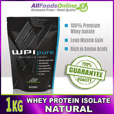 PREMIUM WPI - WHEY PROTEIN ISOLATE - WPI PURE - NATURAL - 1kg