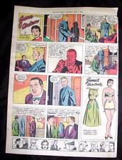 Vtg Star Weekly Toronto Canada Comic Strip Paper Doll - Jane Arden April 7 1956