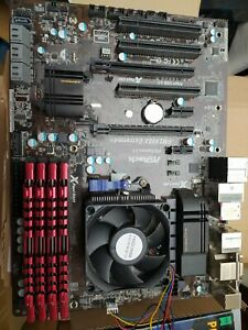 Mainboard ASrock A88x Extreme4+ mit AMD A10 7800 und 32 GB DDR3 RAM
