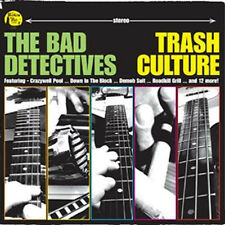 BAD DETECTIVES CD Trash Culture CD - Rockabilly Garage Punk Surf Psychobilly new