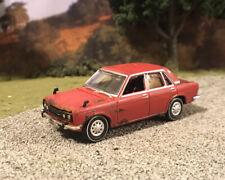 1969 Datsun Bluebird Rusty Weathered 1/64 Custom Barn Find Farm Car Diecast Rust