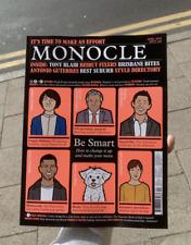 Monocle Magazine #142 April 2021 NEW! Be Smart! Loro Piana Marimekko Omega Watch