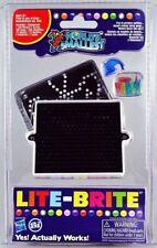 World's Smallest LITE BRITE Art Toy Doll House Miniature Light Bright Pegs,Paper